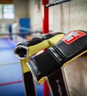 Gants de boxe Centre sportif Espace 1000 Sources