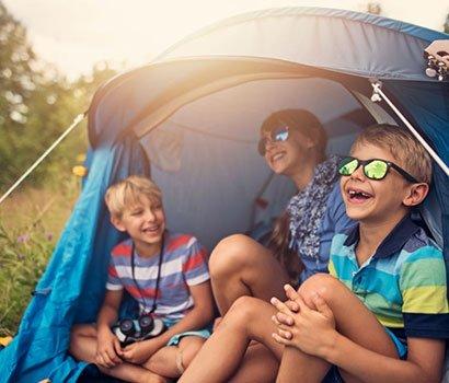 Camping Centre sportif Espace 1000 Sources