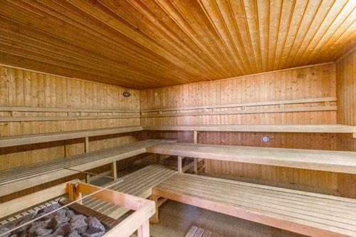 Sauna Centre sportif Espace 1000 Sources